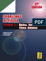 Problemas de Física. Tomo III, 2005, (27ª Edición) - Burbano de Ercilla, Burbano García, Gracia Muñoz - [Alfaomega]