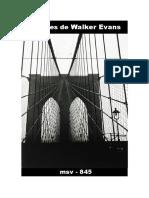 (msv-845) Visiones de Walker Evans