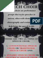 Speech Choir Final Ppt