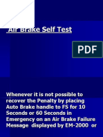 6-A)J-Air Brake Self Test