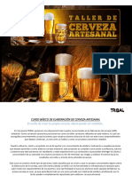 Curso Basico de Elaboracion de Cerveza Artesanal