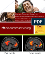 Human-Centered Design for Community-Centered Collaboration