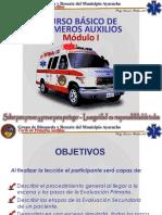 Curso y Tecnicas Basicas de Primeros Auxilios Modulo I BYRMA