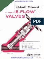 Rockwell Edward Flite Flow Valve