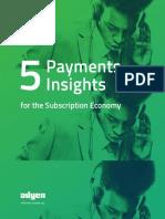 Adyen-5 Payments Insights