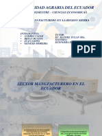 Sector Manufactura