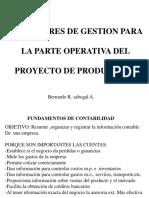 Indicadores de Gestión Para La Parte Operativa Del Proyecto de Producción