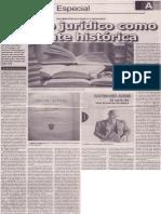El libro jurídico como fuente histórica, Mario Rommel Arce Espinoza