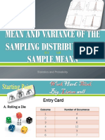 MEAN AND VARIANCE OF THE SAMPLING DISTRIBUTION OF.pptx