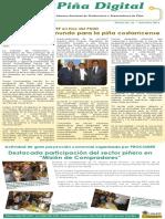Boletín informativo de la Cámara Nacional de Productores y Exportadores de Piña Boletín # 21 setiembre