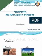 Carguio y Transporte 2 Semestre 2016