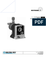 Manual Bomba Dosificadora MILTON ROY Serie Roytronic P+.pdf