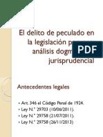 El Delito de Peculado en La Legislación Peruana