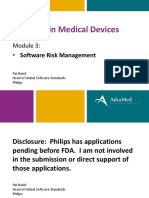 Software in Medical Devices - Module 3