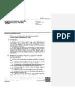 Informe 2015 Chile, Comité Derechos del Niño
