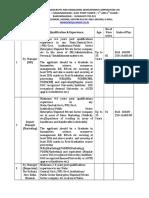 Recruitment Notice 4519