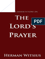 Sacred Dissertations on the Lord´s Prayer - Herman Witsius