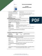 Hoja de Seguridad Carbonatos (1)
