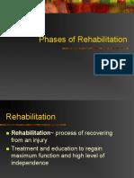 Rehabilitation Phases