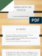 1) Comprensión de Textos-juan Carlos Hernandez