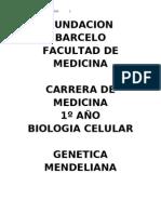 GENETICA MENDELIANA