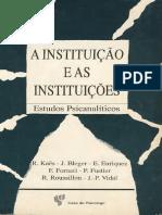 A instituição e as Instituições.pdf
