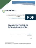 Plan de Actividades Extracurriculares