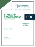 NYDOT Standard Specifications