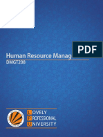 Dmgt208 Human Resource Management