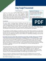 Combatting Trafficking Trough Procurement