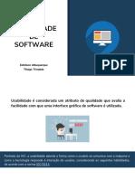 Usabilidade de Software