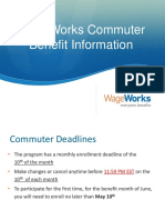 WageWorks Commuter Order Process