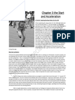 Sprinters Compendium Sample Chapter 3 the Start and Acceleration for Speed Endurance
