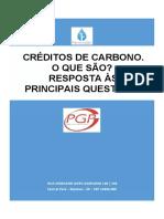 PGP_Crédidtos de Carbono. O Que São