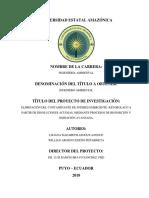 Informe Final Del Proyecto Liliana y Willian
