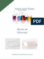FORMULAS PARA JABONES DE GLICERINA