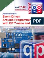 An Event-Driven Arduino QP-nano