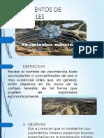 Yacimientos de Minerales