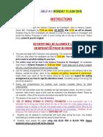 Instructions manual Delf Dalf chandigarh