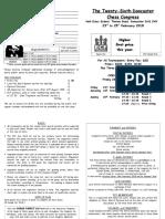 Doncaster Entry Form 2018