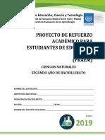 Primera Prueba de Avance de Ciencias Naturales-Segundo Año de Bachillerato 2019.pdf