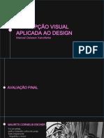 Percepção visual aplicada ao design aula 11