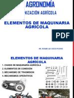 Elementos de maquinaria agricola