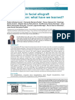 Current role in facial allograft transplantation