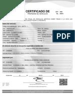 certificado puac