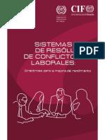 Sistemas de Resolucion de Conflictos Laborales