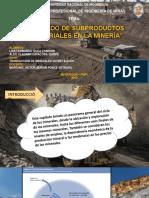 Productos Industriales en Mineria