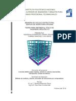 Memoria de Calculo Estructural Edificio Te-10429 [Bueno]
