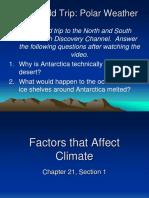 1 Factors That Affect Climate