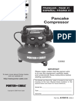Manual Porter Cable 6 Gallon (Manual)